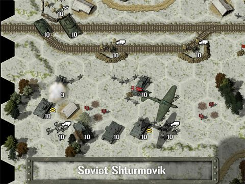Strategy games: download Tank battle: East front 1941 to your phone