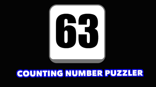 63: Counting number puzzler Symbol