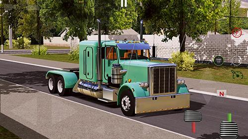 Скриншот World truck driving simulator на андроид