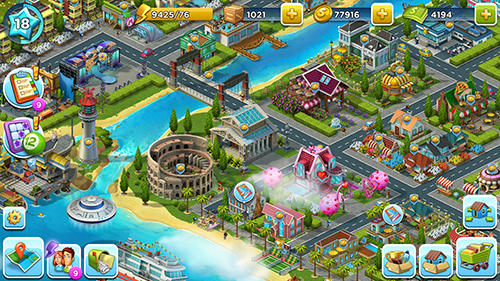 Super city: Build a story für Android