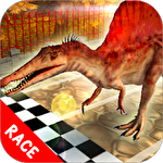 Dino pet racing game: Spinosaurus run!! Symbol