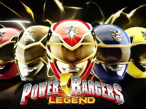 logo Power Rangers: Legenden