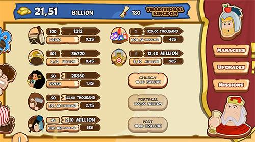 Medieval business clicker Screenshot