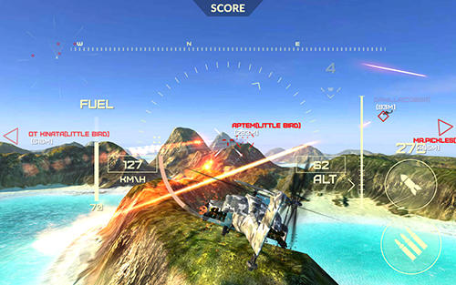 World of gunships für Android
