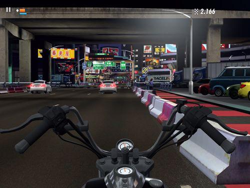 Rennlinie CC: Rasante Motorradrennen für iPhone
