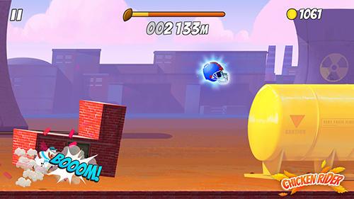 Chicken rider Screenshot
