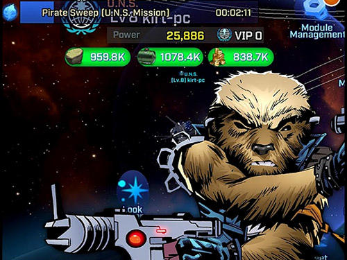 Rogue universe: Free sci-fi space strategy für Android