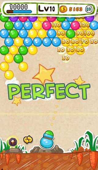 Blasen-Spiele Doodle bubble auf Deutsch