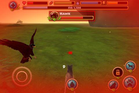 Simulator-Spiele: Lade Wildleben Simulator: Wolf auf dein Handy herunter