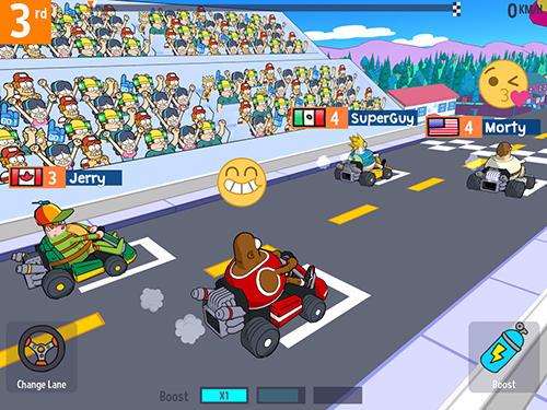 Lol karts: Multiplayer racing скріншот 1