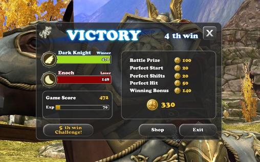 Mount and spear: Heroic knights скриншот 1