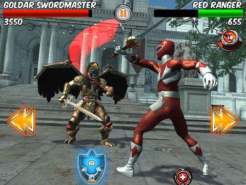 Screenshot Power Rangers: Legenden auf dem iPhone
