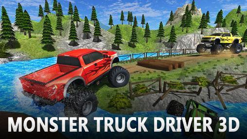 Monster truck driver 3D Screenshot