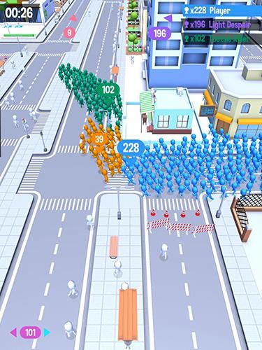 Arcade-Spiele: Lade Andrang in der Stadt auf dein Handy herunter