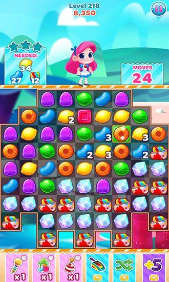 Candy blast mania: Summer in English