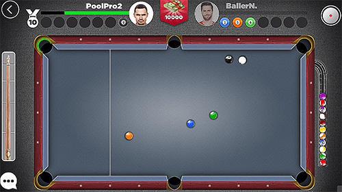 Onlinespiele Kings of pool: Online 8 ball für das Smartphone