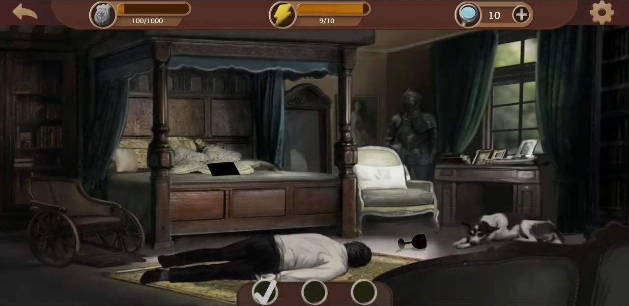 Detective & Puzzles - Mystery Jigsaw Game für Android