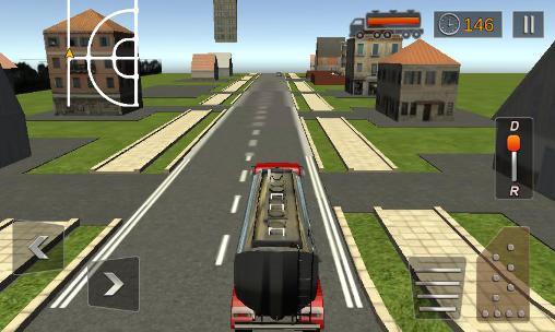 Simulation Oil transport truck 2016 für das Smartphone