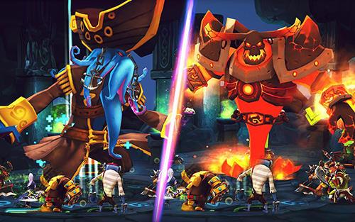 RPG Giants war for smartphone