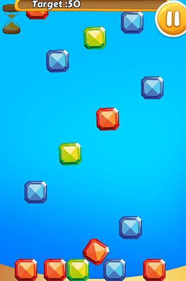 Arcade-Spiele Jewel rush: Match color für das Smartphone