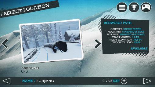Snowboard party 2 screenshot 1