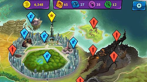 RPG-Spiele Mysticons: Secrets of Gemina für das Smartphone
