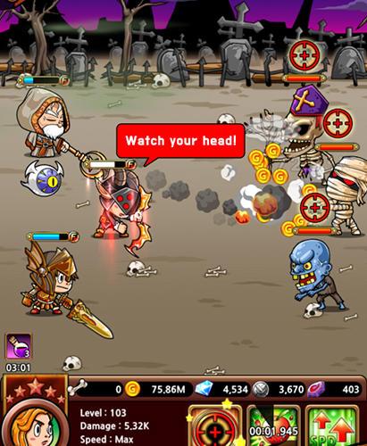 Hero C: Round and round! für Android