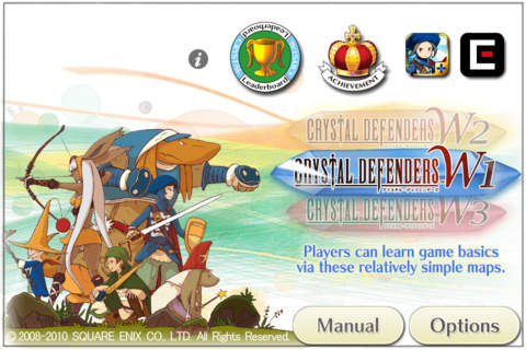 Strategy games: download Crystal Defenders to your phone
