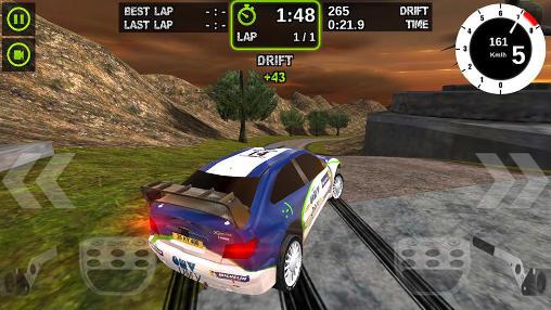 Rennspiele Rally racer: Dirt für das Smartphone