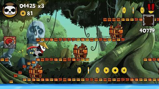 Juegos de arcade Panda run by Divmob para teléfono inteligente