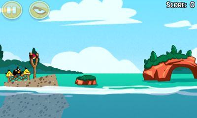 Angry Birds Seasons Piglantis! screenshot 2
