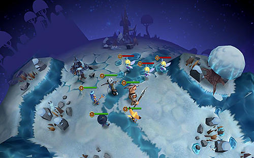 Strategische RPG-Spiele Hero masters auf Deutsch