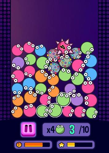 Arcade-Spiele Bubble blast frenzy für das Smartphone