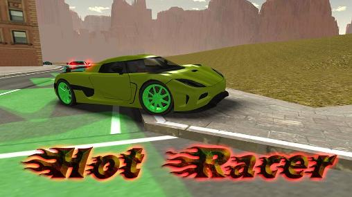 Hot racer icon