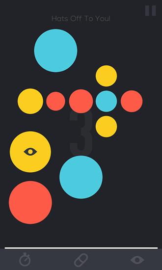 Gedächtnistraining-Spiele Huemory: Colors. Dots. Memory auf Deutsch