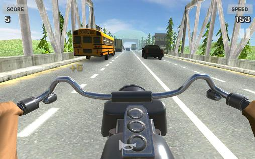 Riding in traffic online für Android