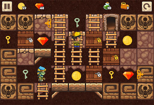 Puzzle adventure: Underground temple quest auf Deutsch