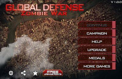 logo Globale Verteidigung: Zombie Weltkrieg