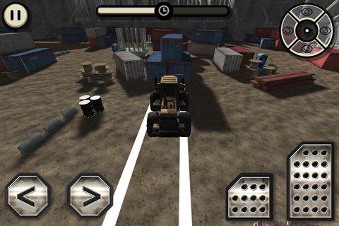 Baustellen Truck: Simulator auf Deutsch