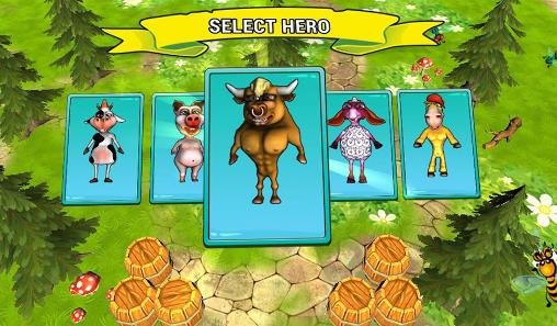 Arcade Farm blast 3D für das Smartphone