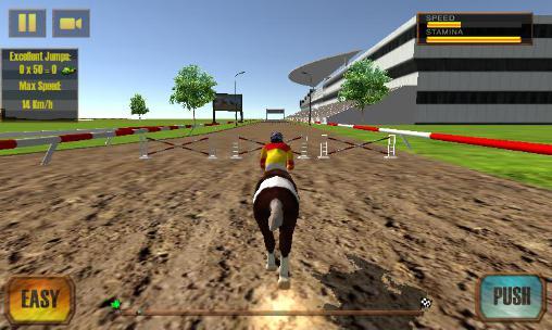 Rennspiele Horse racing derby quest 2016 für das Smartphone