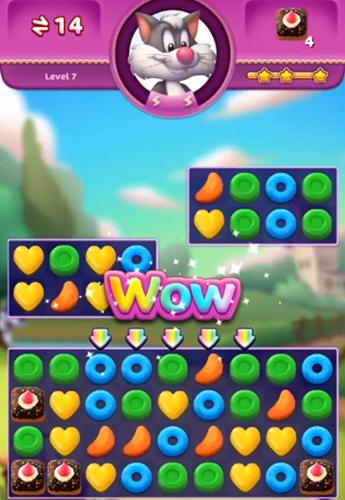 Arcade-Spiele: Lade Bonbon Explosion auf dein Handy herunter