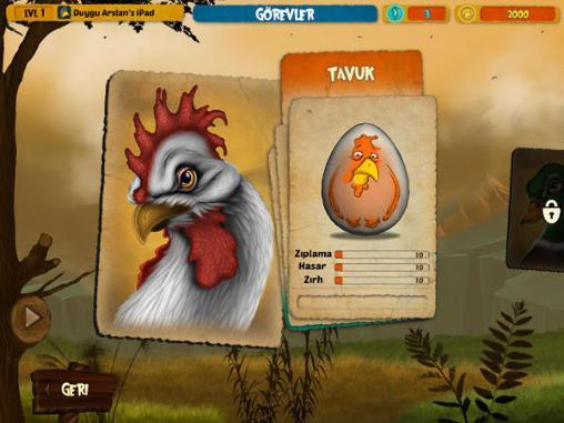 Arcade Egg fight für das Smartphone
