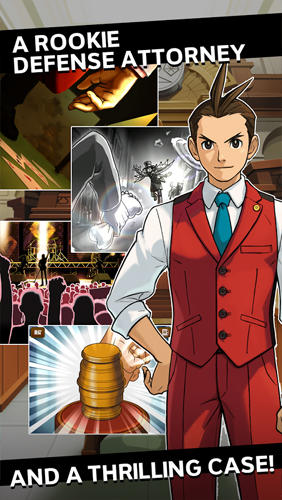 Apollo justice: Ace attorney pour Android