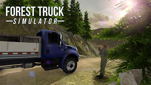 Forest truck simulator captura de pantalla 1