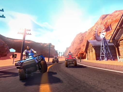 ATV quad bike racing mania pour Android