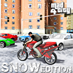 Иконка Mad city 4: Winter snow edition