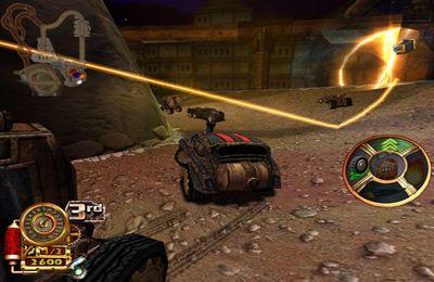 Screenshot Steampunk Rennen 3D auf dem iPhone