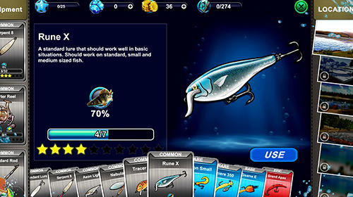 Ultimate fishing simulator PRO capture d'écran 1