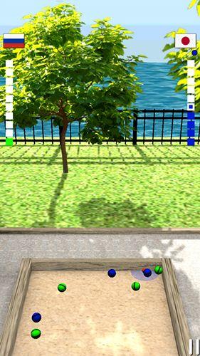 Bocce 3D captura de tela 1